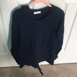 Thyme Maternity Blue Sweater Shirt Size S/P